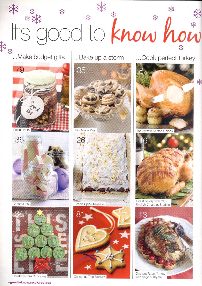 Good to Know Recipes, December 2013 page 4