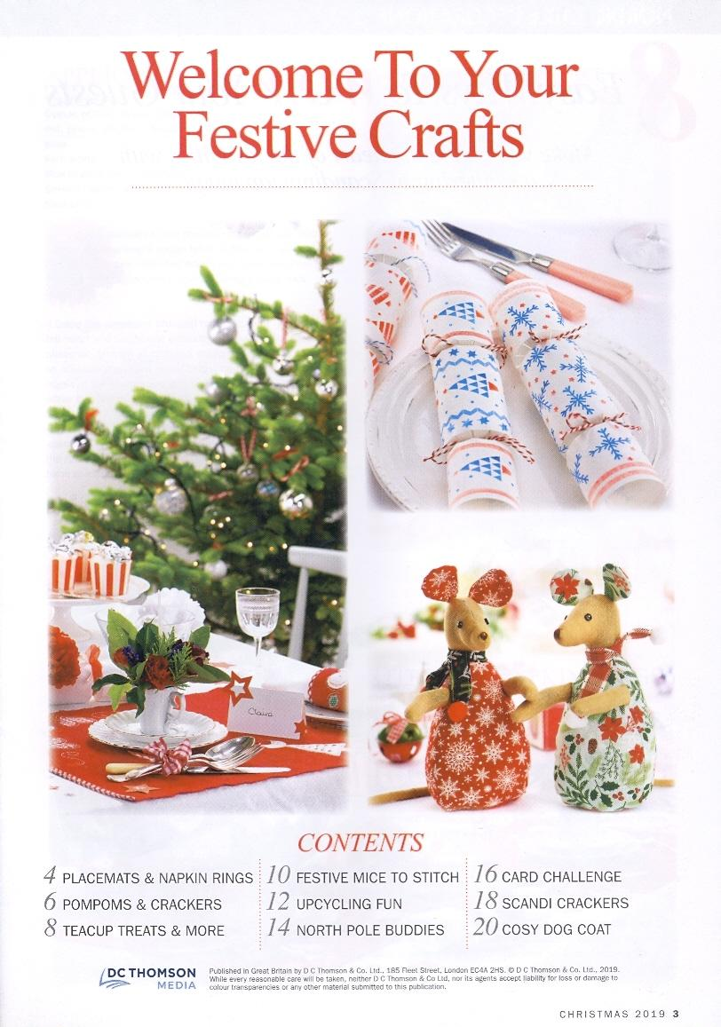 Your Best Ever Christmas Crafting 2019 page 3