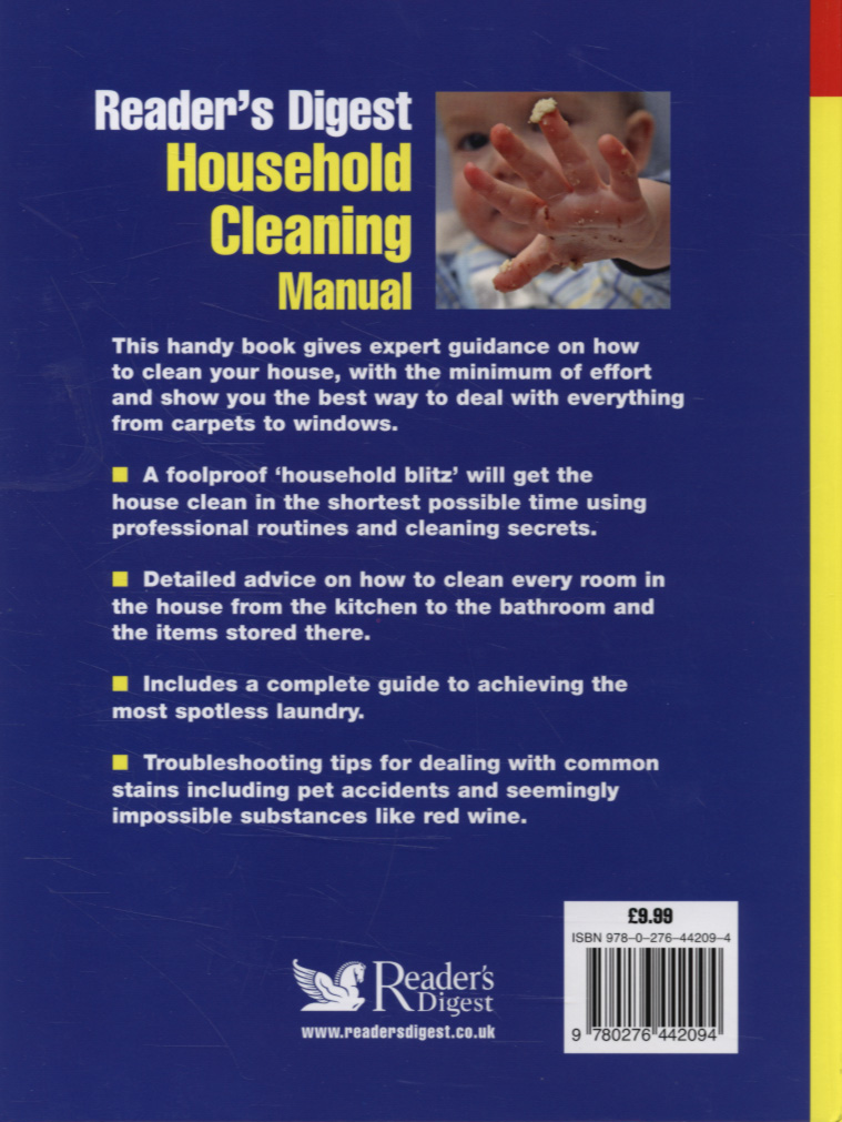Household Cleaning Manual tagakaas