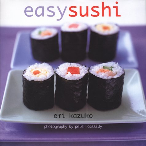 "Trükise ""Easy Sushi"" kaanepilt. Cover picture of ""Easy Sushi""."