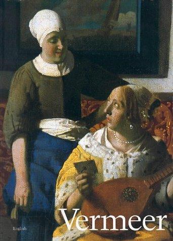 """Trükise """"Vermeer"""" kaanepilt. Cover picture of """"Vermeer""""."""