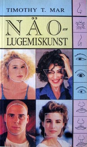 """Trükise """"Näolugemiskunst"""" kaanepilt. Cover picture of """"Näolugemiskunst""""."""