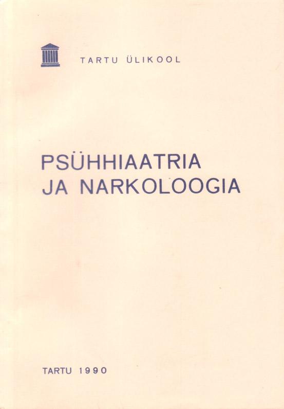Psühhiaatria ja narkoloogia
