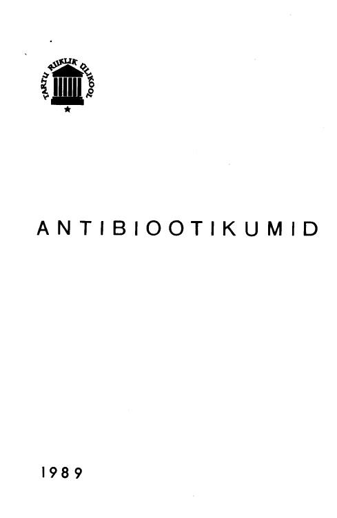Antibiootikumid