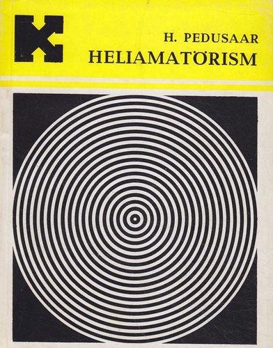"""Trükise """"Heliamatörism"""" kaanepilt. Cover picture of """"Heliamatörism""""."""