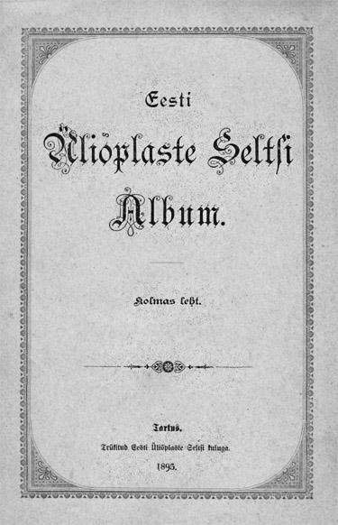 Eesti Üliõpilaste Seltsi Album
