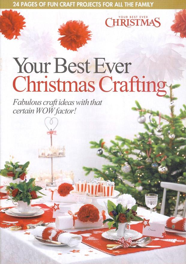 Your Best Ever Christmas Crafting 2019 kaanepilt – front cover