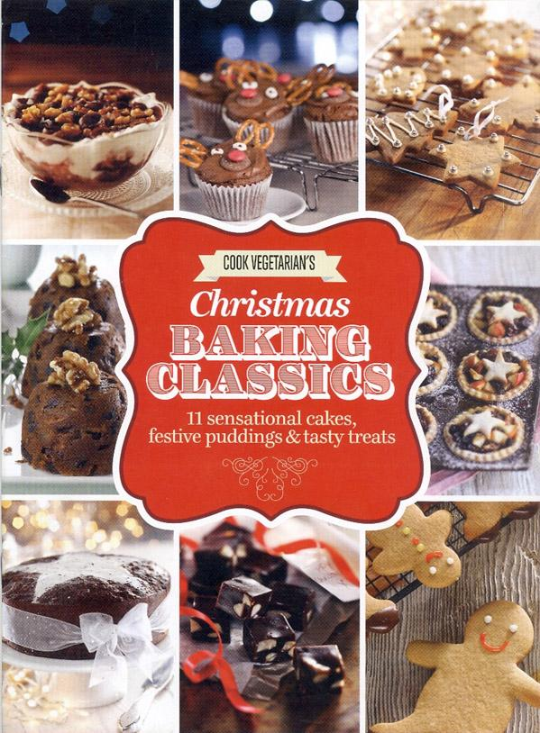Cook Vegetarian's Christmas Baking Classics, November-December 2018