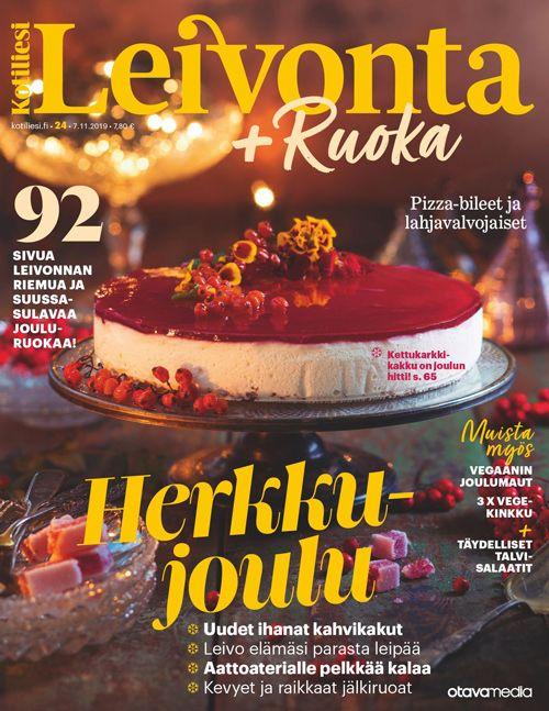Kotiliesi Leivonta + Ruoka, 24-2019