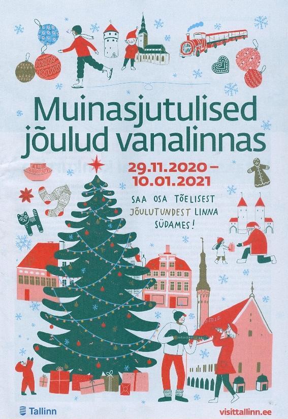 Muinasjutulised jõulud vanalinnas