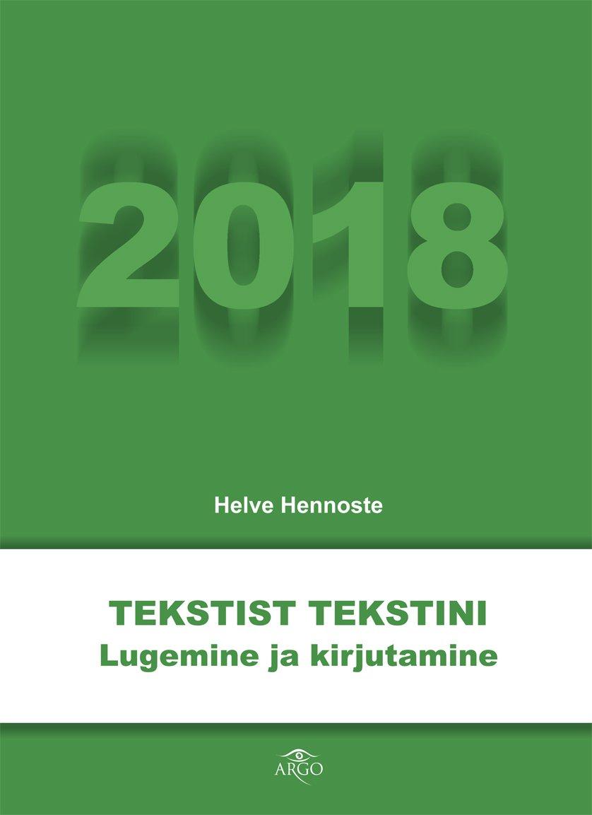 Tekstist tekstini 2018