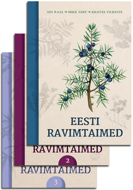 Eesti ravimtaimed 1–3 (komplekt)