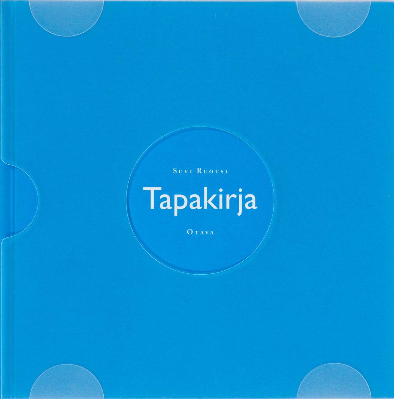 "Trükise ""Tapakirja"" kaanepilt. Cover picture of ""Tapakirja""."
