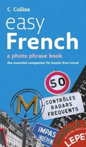 """Trükise """"Easy French A photo phrase book"""" kaanepilt. Cover picture of """"Easy French A photo phrase book""""."""