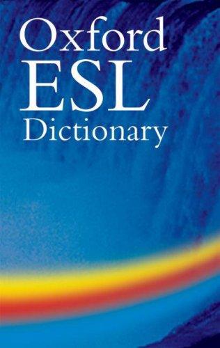 Oxford ESL Dictionary