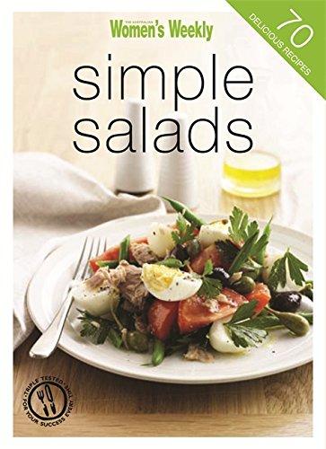"Trükise ""Simple Salads"" kaanepilt. Cover picture of ""Simple Salads""."