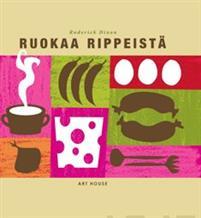 """Trükise """"Ruokaa rippeistä"""" kaanepilt. Cover picture of """"Ruokaa rippeistä""""."""
