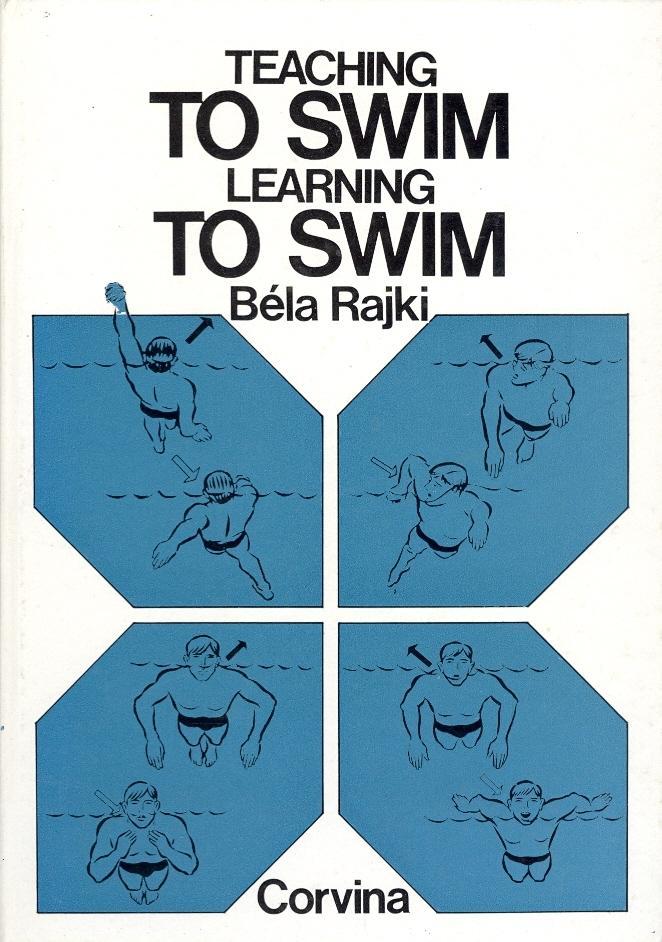 "Trükise ""Teaching to swim Learning to swim"" kaanepilt. Cover picture of ""Teaching to swim Learning to swim""."
