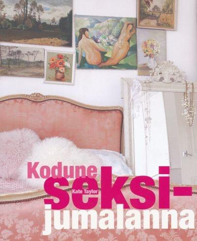 "Trükise ""Kodune seksijumalanna"" kaanepilt. Cover picture of ""Kodune seksijumalanna""."