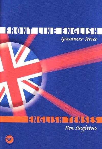 """Trükise """"English tenses Tegusõna ajavormid"""" kaanepilt. Cover picture of """"English tenses Tegusõna ajavormid""""."""