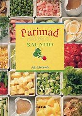 """Trükise """"Parimad salatid"""" kaanepilt. Cover picture of """"Parimad salatid""""."""