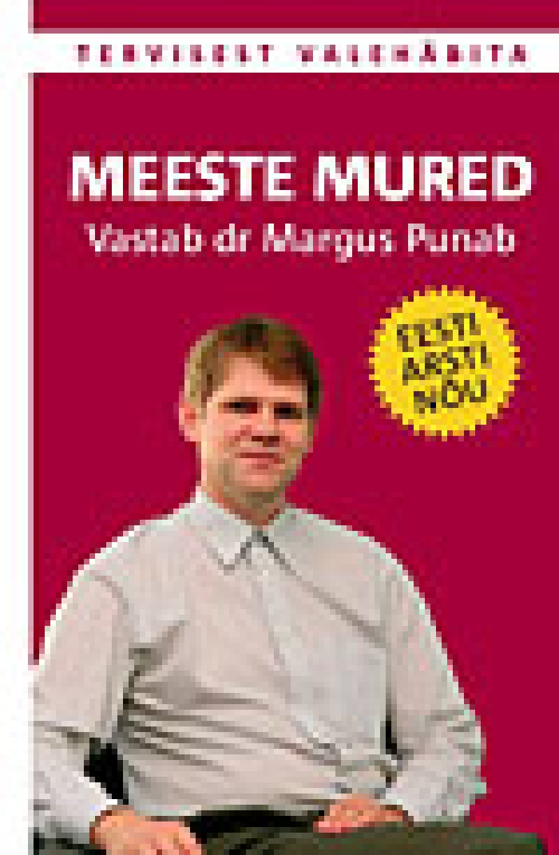 "Trükise ""Meeste mured"" kaanepilt. Cover picture of ""Meeste mured""."