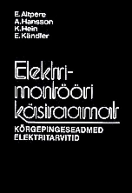 Elektrimontööri käsiraamat