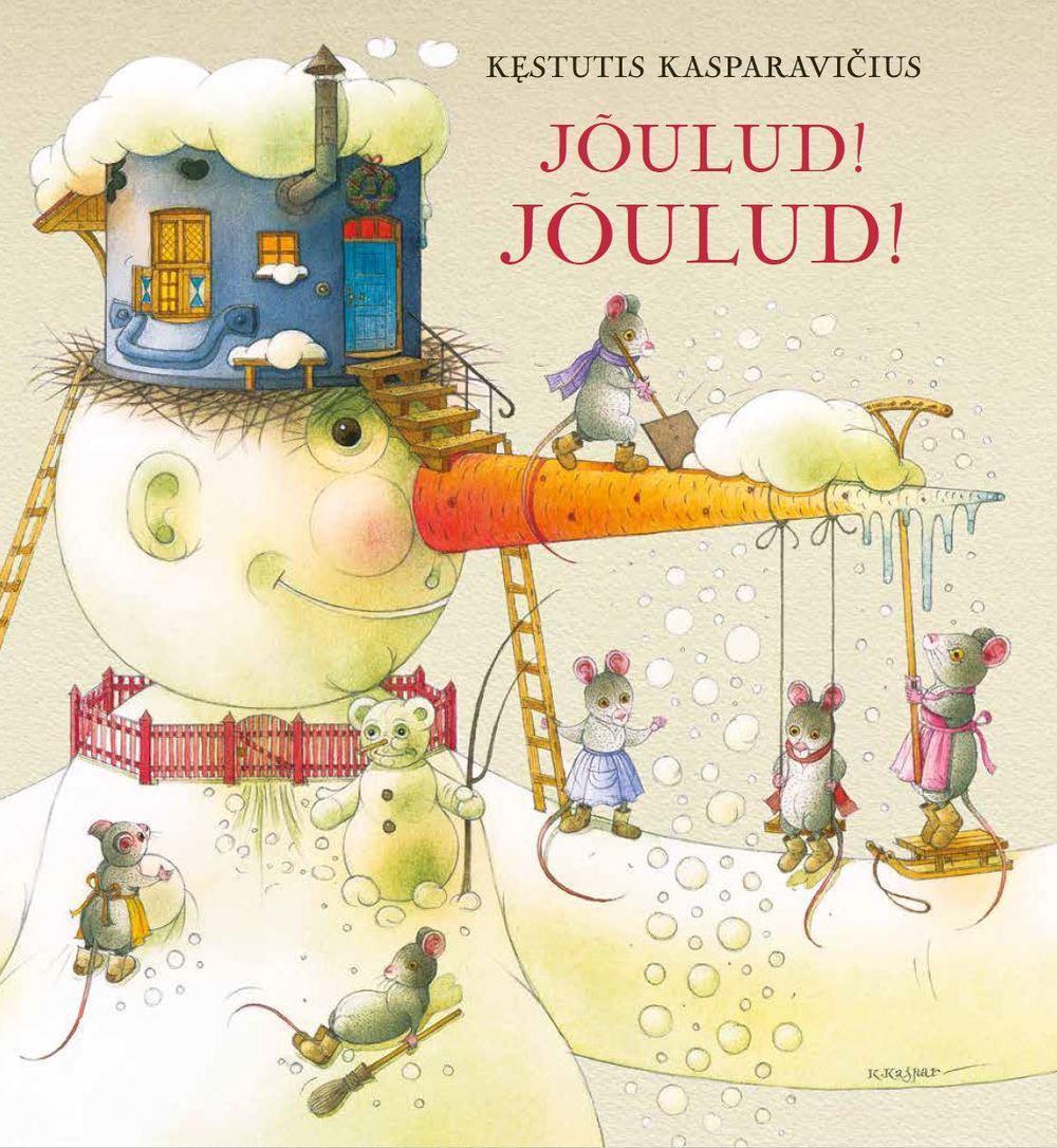 """Trükise """"Jõulud! Jõulud!"""" kaanepilt. Cover picture of """"Jõulud! Jõulud!""""."""