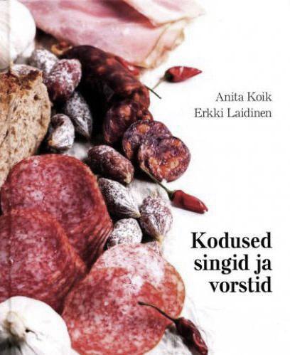 """Trükise """"Kodused singid ja vorstid"""" kaanepilt. Cover picture of """"Kodused singid ja vorstid""""."""