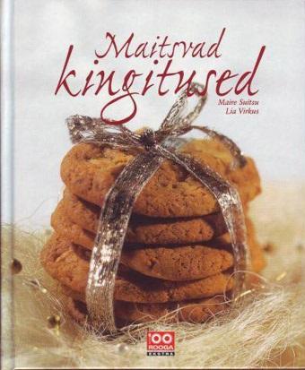 """Trükise """"Maitsvad kingitused"""" kaanepilt. Cover picture of """"Maitsvad kingitused""""."""