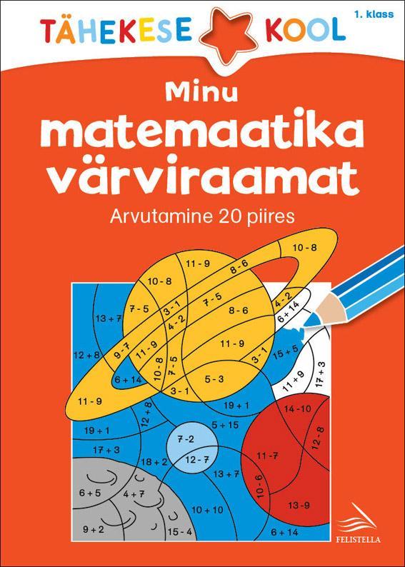 Minu matemaatika värviraamat