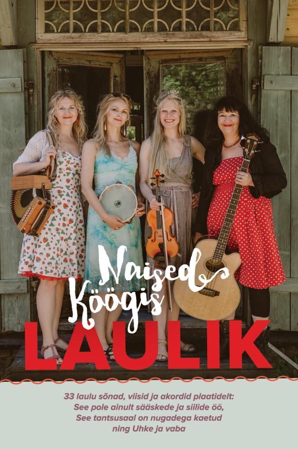 """Trükise """"Naised Köögis laulik"""" kaanepilt. Cover picture of """"Naised Köögis laulik""""."""