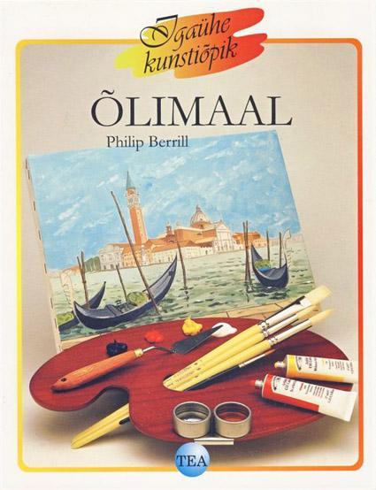 """Trükise """"Õlimaal"""" kaanepilt. Cover picture of """"Õlimaal""""."""