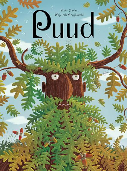 """Trükise """"Puud"""" kaanepilt. Cover picture of """"Puud""""."""
