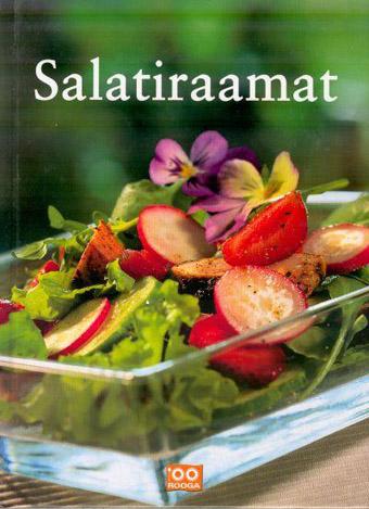 """Trükise """"Salatiraamat"""" kaanepilt. Cover picture of """"Salatiraamat""""."""