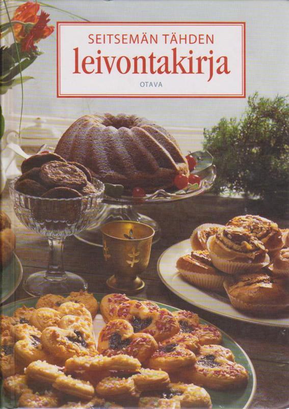 Seitsemän tähden leivontakirja kaanepilt – front cover