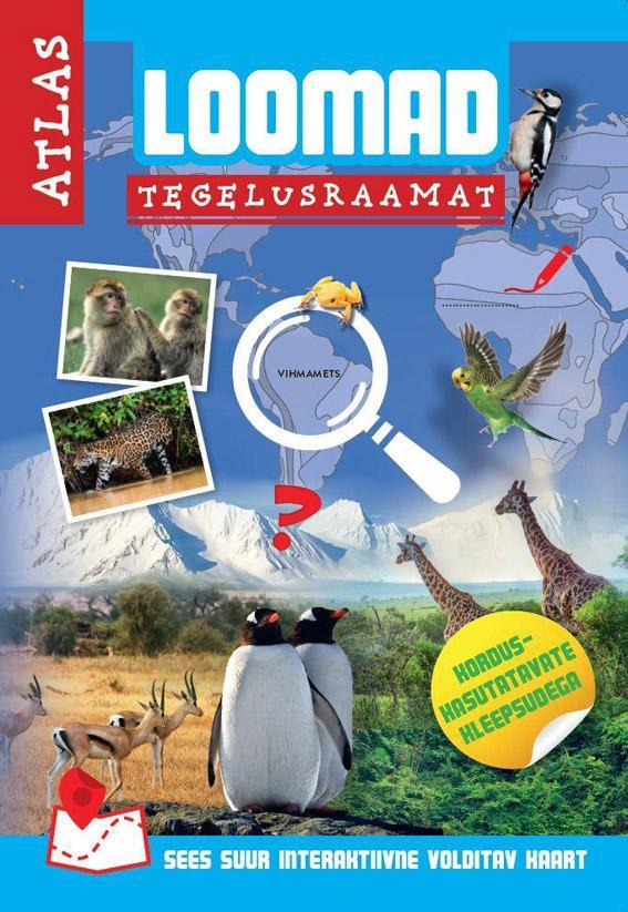 Loomad: tegelusraamat, atlas