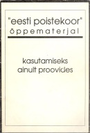 Eesti Poistekoor õppematerjal