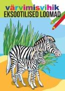 Värvimisvihik eksootilised loomad