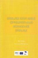 Erialase eesti keele õppematerjalid kokanduse erialale