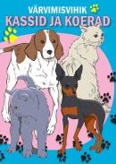 Värvimisvihik kassid ja koerad