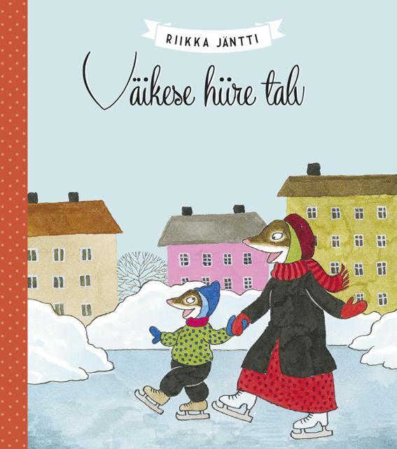 """Trükise """"Väikese hiire talv"""" kaanepilt. Cover picture of """"Väikese hiire talv""""."""