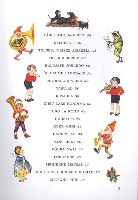 Meie lapse lauluraamat lk 5