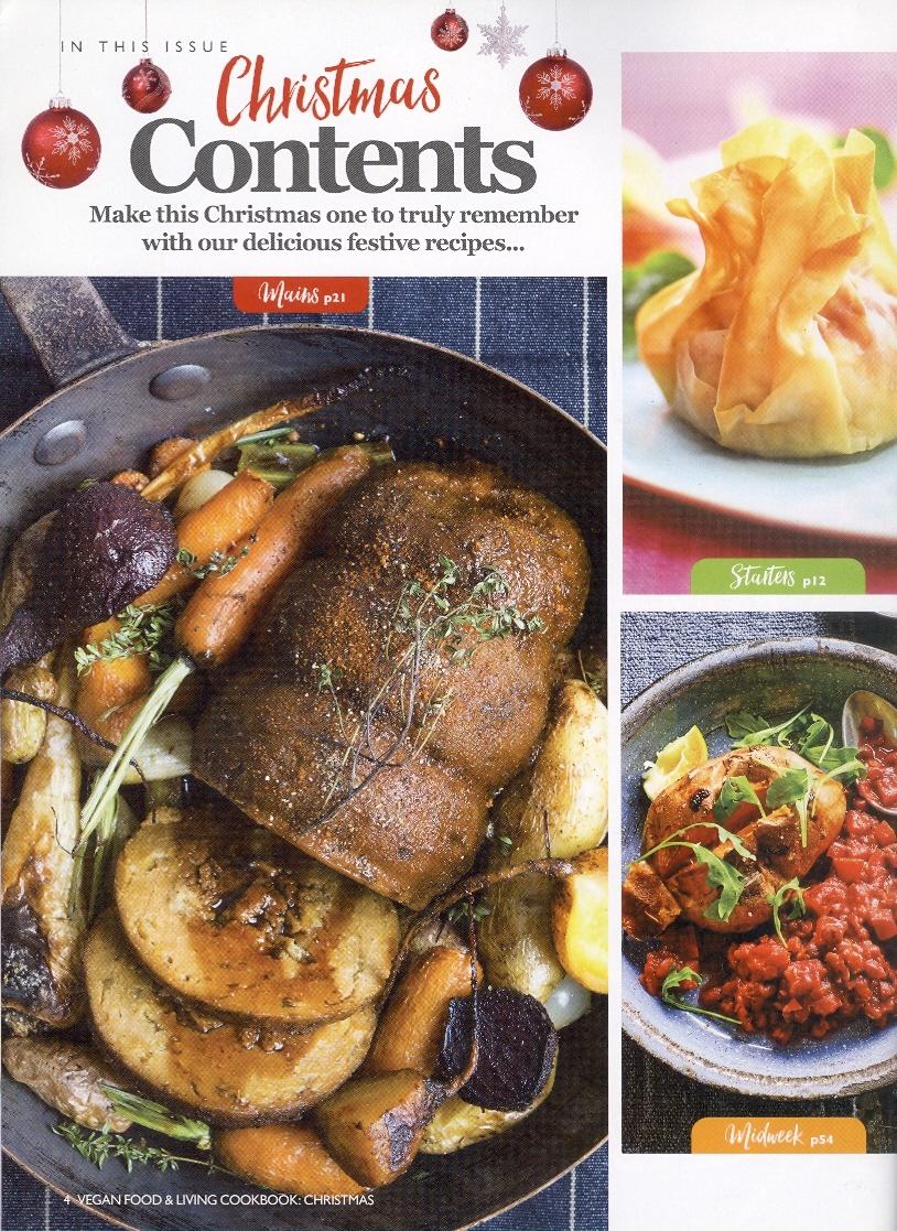 Vegan Food & Living, Christmas 2017 page 4