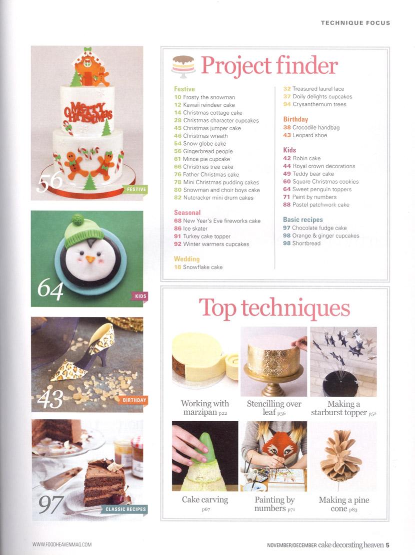 Food Heaven Cake Decorating Heaven, November-December 2018 page 5
