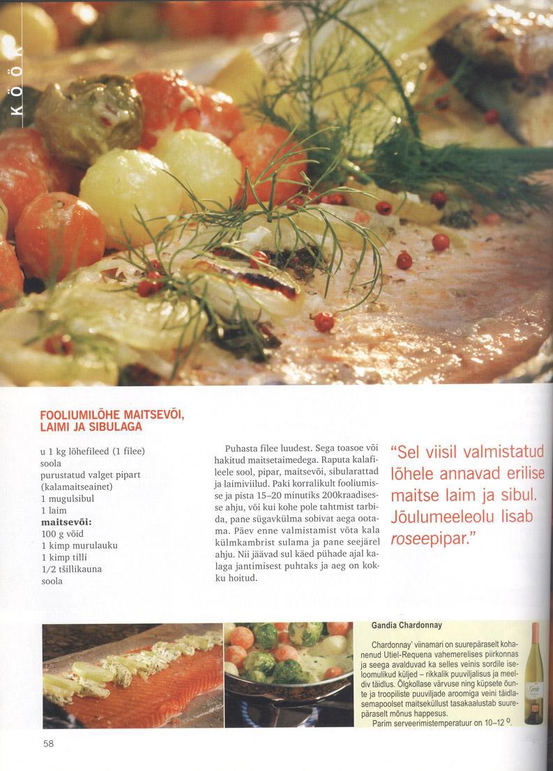 Kodukolle, november 2005 45 lk jõuluettevalmistusi lk 58