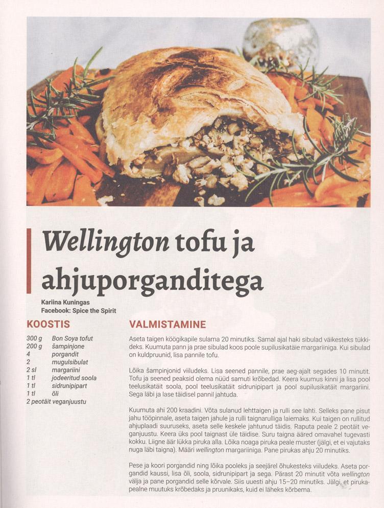 Ajakiri Vegan retseptilisa 2019 lk 13