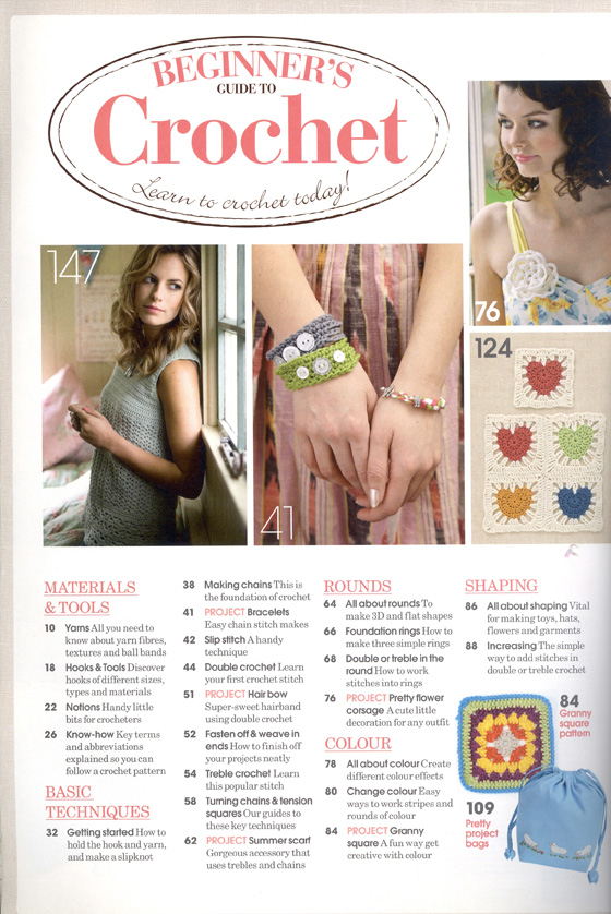 Beginners Guide to Crochet page 4