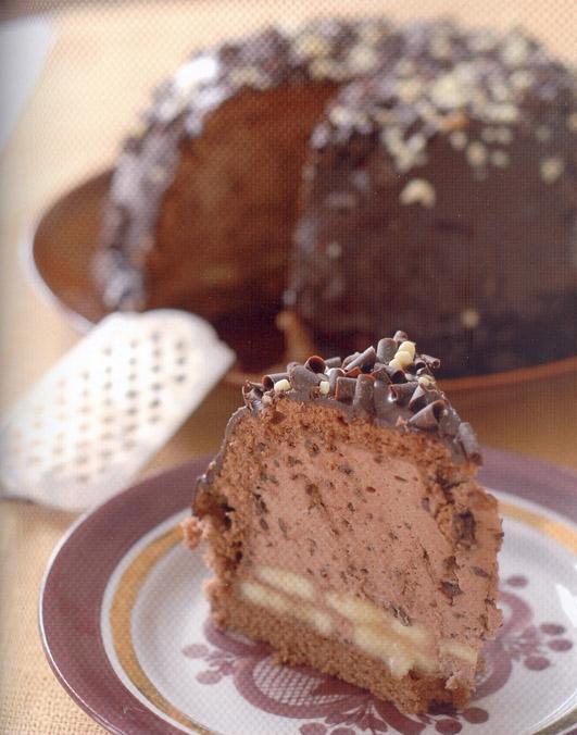 Retsept raamatust Nadja koogid – šokolaadikuhi